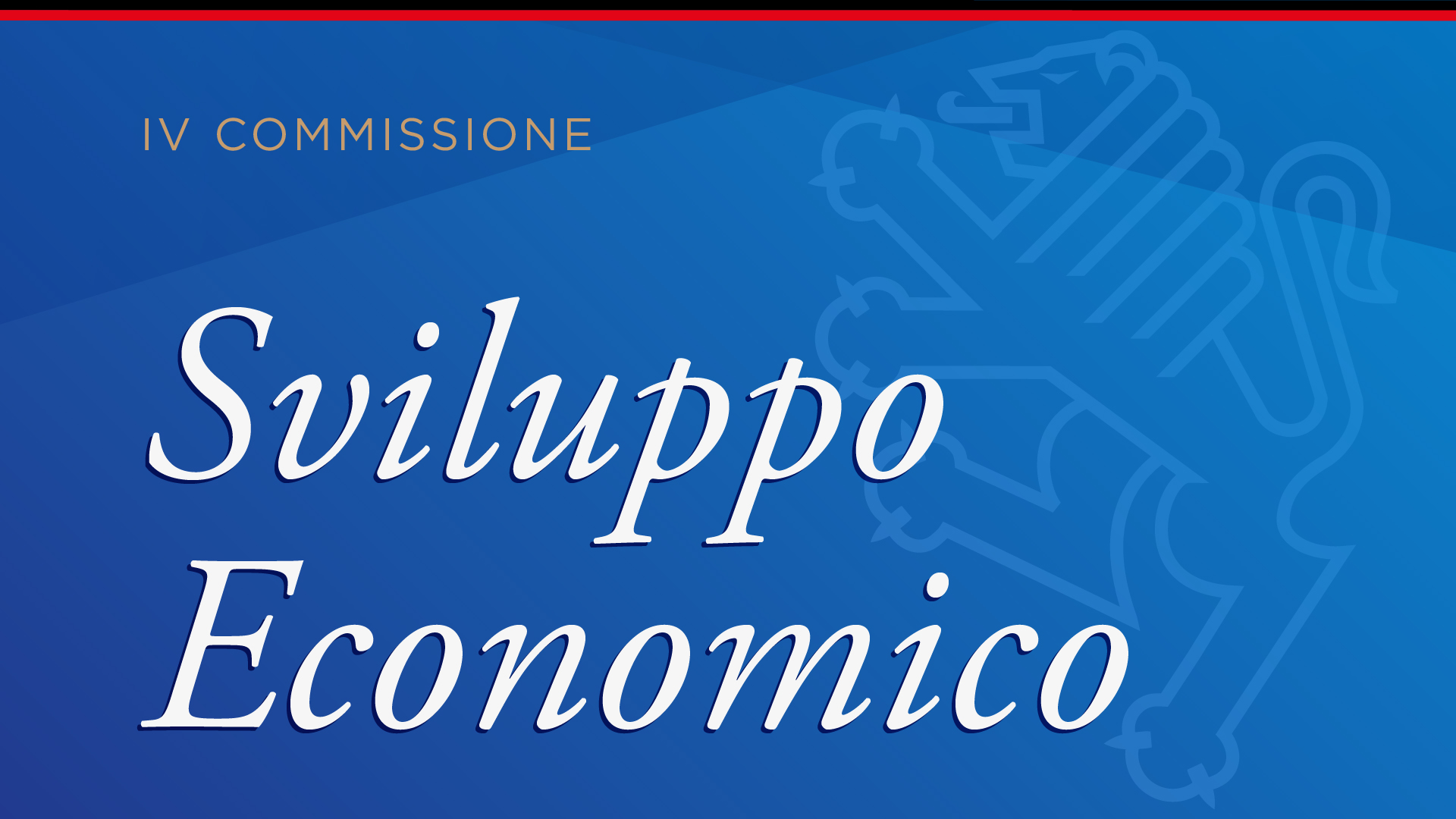 IV Commissione: Sviluppo Economico