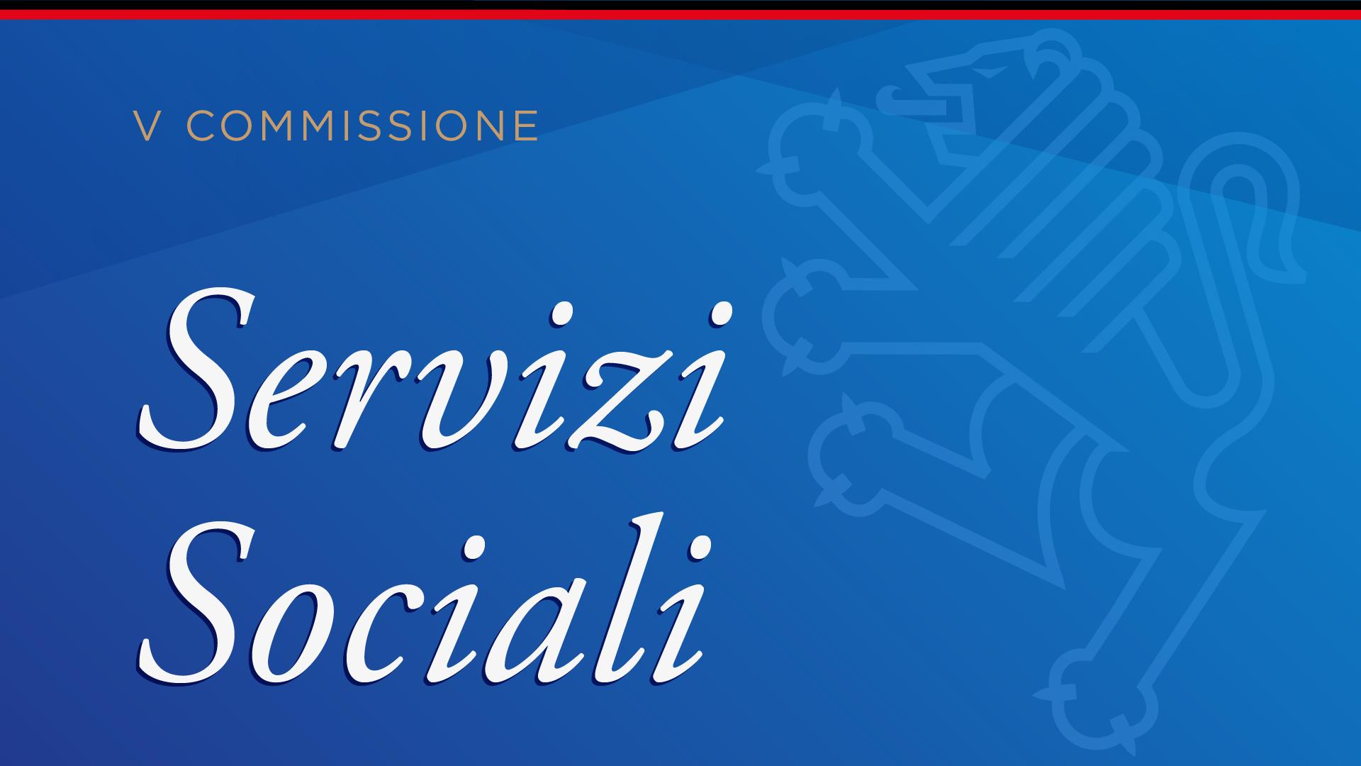 V Commissione: Servizi Sociali
